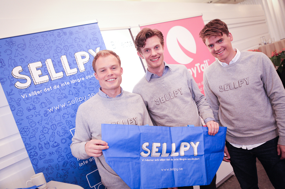 Sellpy receives 8,2 MSEK from H&M and more