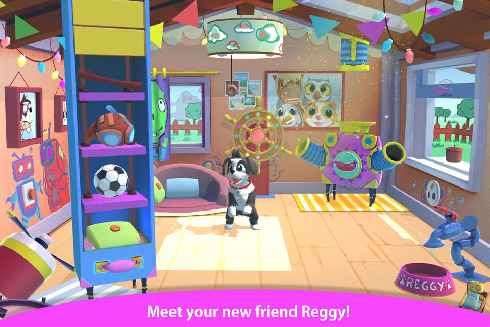 Peppy Pals releases new EQ game – Reggy's Playdate