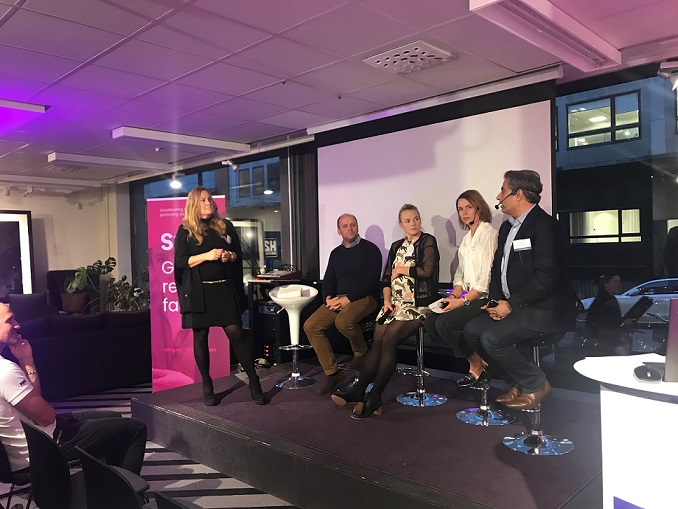 120 speed meetings and inspiring insights at Sting Night Digital Health