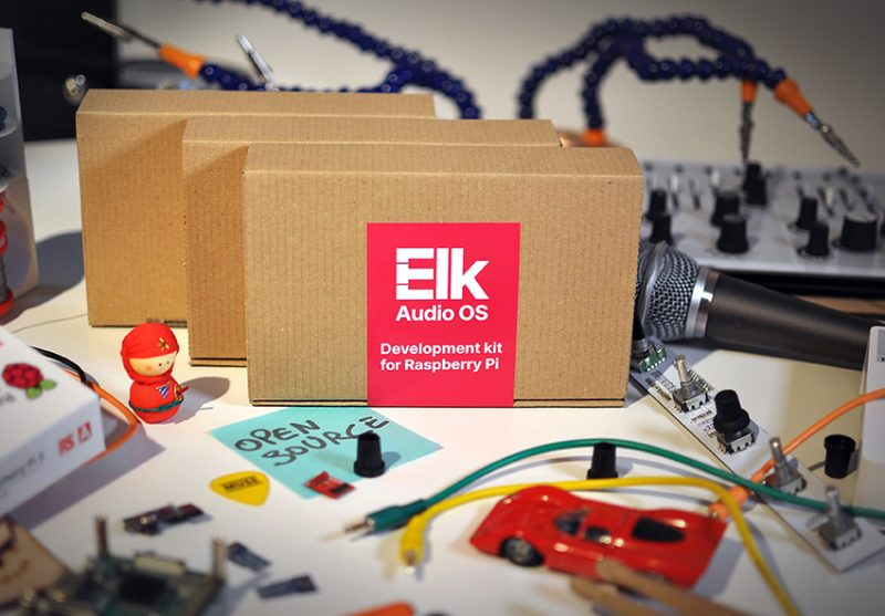 Elk releases open-source version of award-winning Audio Operating System and Development Kit for Raspberry Pi